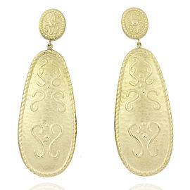 Martha OBrien 18KY Drop Earrings