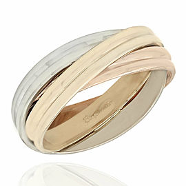 14K 3 Tone Trinity Ring