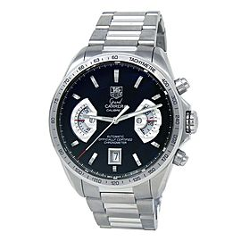 Tag Heuer Grand Carrera Stainless Steel Men's Watch Automatic CAV511A.BA0902