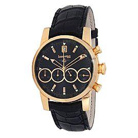 Eberhard & Co Chrono 4 18k Rose Gold Automatic Men's Watch 30058