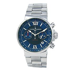 Ulysse Nardin Maxi Marine Stainless Steel Men's Watch Automatic 353-66-7/323