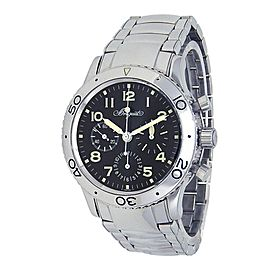 Breguet Type XX Aeronavale Fly-Back Chronograph Black Men's Watch 3800ST/92/SW9