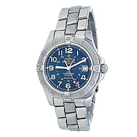 Breitling Colt GMT Stainless Steel Automatic Blue Men's Watch A32350