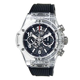 Hublot Big Bang Unico Sapphire Rubber Auto Skeleton Men's Watch 411.JX.1170.RX