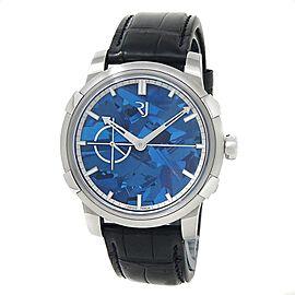 Romain Jerome 1969 Heavy Metal Blue Silicium Steel Men's Watch RJ.M.AU.020.02