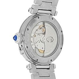 Cartier Pasha Stainless Steel Automatic Silver Men's Watch W31059H3