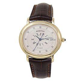 Audemars Piguet Millenary 18k Yellow Gold Automatic White Men's Watch 14908BA
