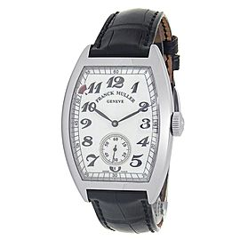 Franck Muller Power Reserve Stainless Steel White Men's Watch 7885 B S6 PR VIN
