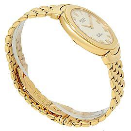 Rolex Cellini 18k Yellow Gold Quartz White Men's Watch 6623