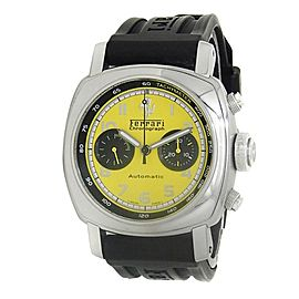 Panerai Ferrari Granturismo Stainless Steel Automatic Yellow Mens Watch FER00011