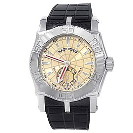 Roger Dubuis Easy Diver Stainless Steel Automatic Champagne Men's Watch SE40