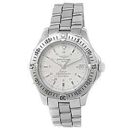 Breitling Colt Stainless Steel Automatic White Men's Watch A17350
