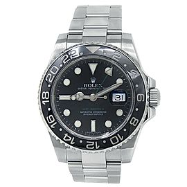 Rolex GMT-Master II Stainless Steel Oyster Automatic Black Men's Watch