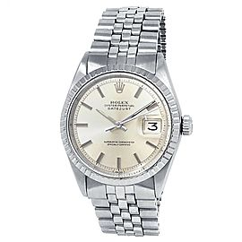 Rolex Datejust Stainless Steel Jubilee Automatic Silver Men's Watch 1603