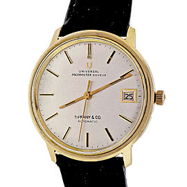 Polerouter Universal Geneve Micro Rotor Automatic Date Strap Watch