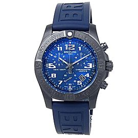 Breitling Chronospace Evo Night Mission Titanium Quartz Blue Men's Watch V73330