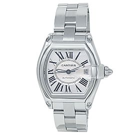 Cartier Roadster Stainless Steel Automatic Silver Men's Watch W62025V3