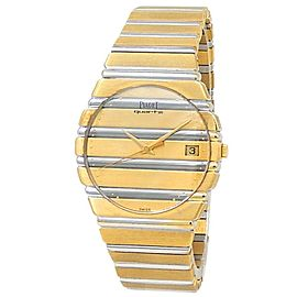 Piaget Polo 18k Yellow Gold 18k White Gold Quartz Men's Watch