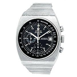 Omega Speedmaster 125th Anniversary Stainless Steel Black Men's Watch 178.0002
