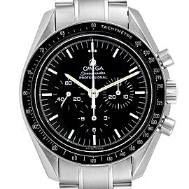 Omega Speedmaster Chronograph Black Dial Mens MoonWatch 3570.50.00 Card
