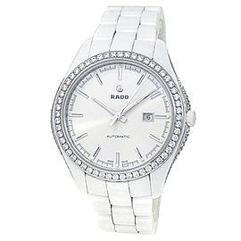 Rado Hyperchrome White Ceramic Automatic Diamonds White Ladies Watch R32483012