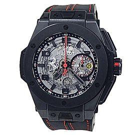 Hublot Big Bang Ferrari Titanium Automatic Skeleton Men's Watch 401.CX.0123.VR