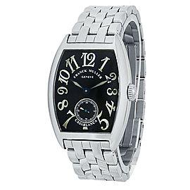 Franck Muller Casablanca Stainless Steel Manual Black Ladies Watch 7502 S6