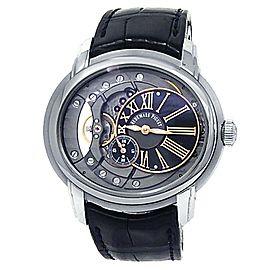 Audemars Piguet Millenary Stainless Steel Grey Men's Watch 15350ST.OO.D002CR.01