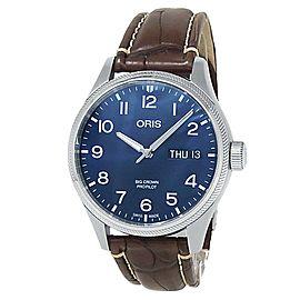 Oris Big Crown ProPilot Stainless Steel Auto Blue Men's Watch 01 752 7698 4065
