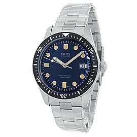 Oris Divers Sixty-Five Stainless Steel Auto Blue Men's Watch 01 733 7720 4055