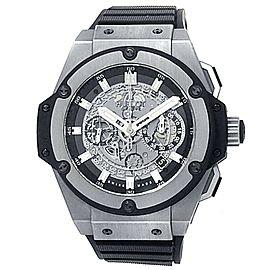 Hublot Big Bang King Power Unico Titanium Rubber Skeleton Watch 701.NX.0170.RX