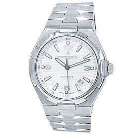 Vacheron Constantin Overseas Stainless Steel Silver Men's Watch 47040/B01A-9093