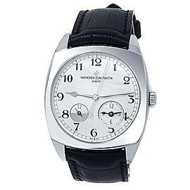 Vacheron Constantin Harmony 18k White Gold Auto Silver Watch 7810S/000G-B142