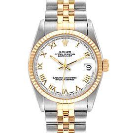 Rolex Datejust Midsize 31mm Steel Yellow Gold Ladies Watch 68273