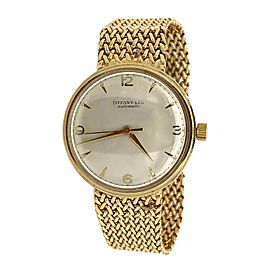 Tiffany & Co. 14 Karat Yellow Gold Vintage Wristwatch