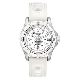 Breitling Superocean II 36 Hurricane White Dial Ladies Watch A17312