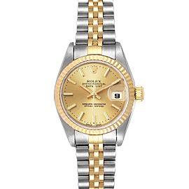 Rolex Datejust 26 Steel Yellow Gold Ladies Watch 79173 Box
