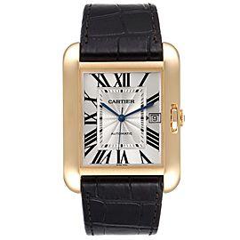 Cartier Tank Anglaise XL Yellow Gold Mens Watch W5310032