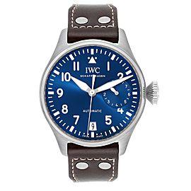 IWC Pilot Le Petit Prince Big Pilots Blue Dial Mens Watch IW501002 Unworn
