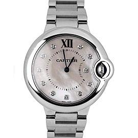 Cartier Ballon Bleu 3653 33mm Womens Watch