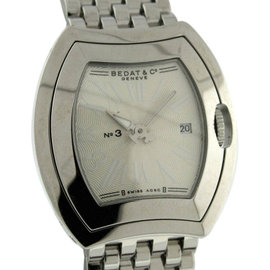 Bedat & Co. No.3 Stainless Steel Date 25mm x 27mm Watch