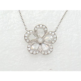 Tiffany & Co. Flower Pendant Necklace
