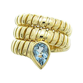 Bulgari 750 Yellow Gold Serpent Ring