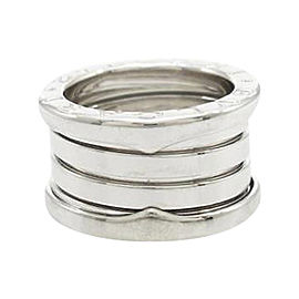 Bulgari 750 White Gold B zero1 Band Ring