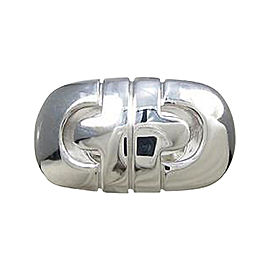 Bulgari 750 White Gold Parenteshi Ring