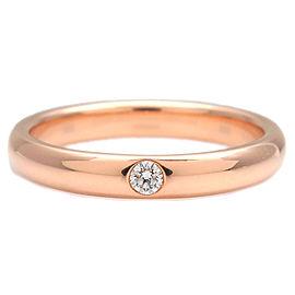 HARRY WINSTON Round Marriage Ring 1P Diamond Rose Gold US6