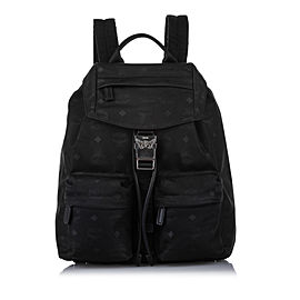 Visetos Nylon Drawstring Backpack
