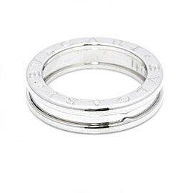 BVLGARI 18K white gold B-zero1 Ring