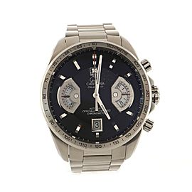 Tag Heuer Grand Carrera Chronograph Calibre 17 Automatic Watch Stainless Steel 43