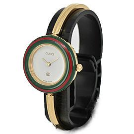 GUCCI Change bezel 1100-L White Dial Quartz Ladies Watch